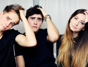 Joe Sugg, Alfie Deyes and Zoella.