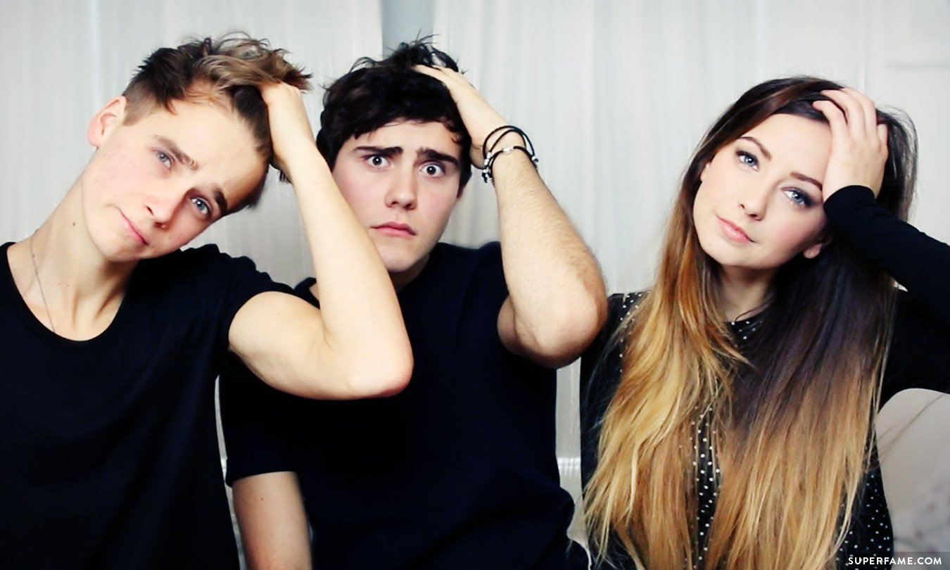 Talentless zoella alfie joe blasted for doing charity single joe sugg alfie deyes and zoella m4hsunfo