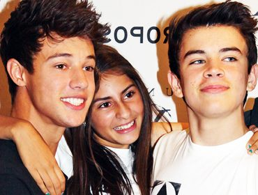 Cameron Dallas and Hayes Grier.