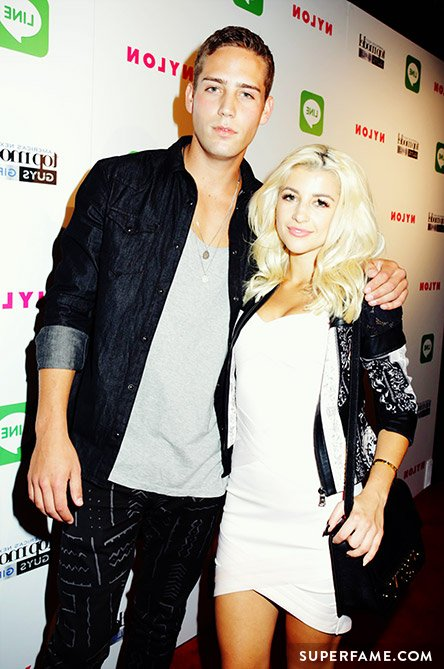 Evelina and Trevor at ANTM.