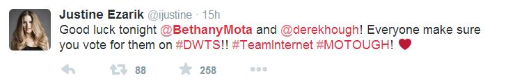 iJustine is on #TeamInternet.
