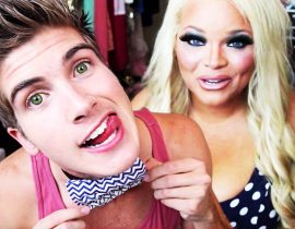Joey Graceffa and Trisha Paytas.