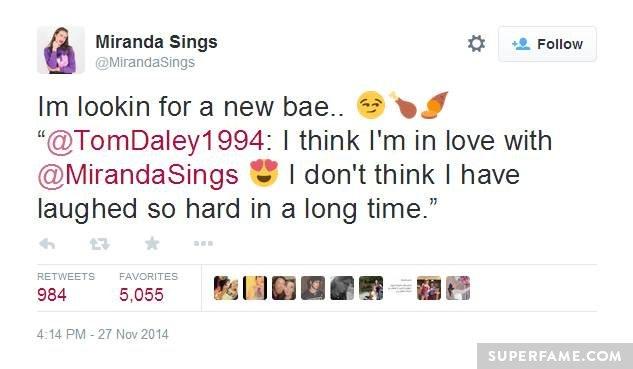 Miranda finds a new bae.