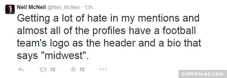 Neil McNeil's haters.