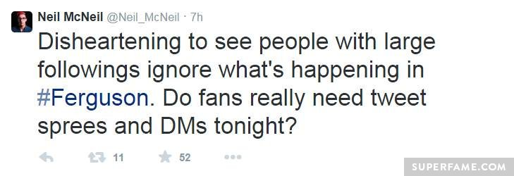 Neil McNeil calls out YouTubers.
