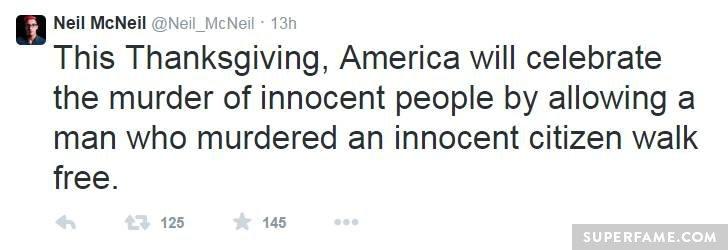 Neil McNeil's Ferguson Thanksgiving.