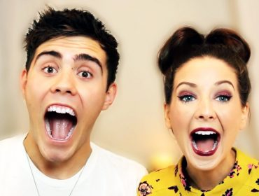 Zoella and Alfie Deyes.