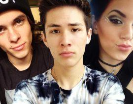 Alex Ramos, Carter Reynolds and Deborah.