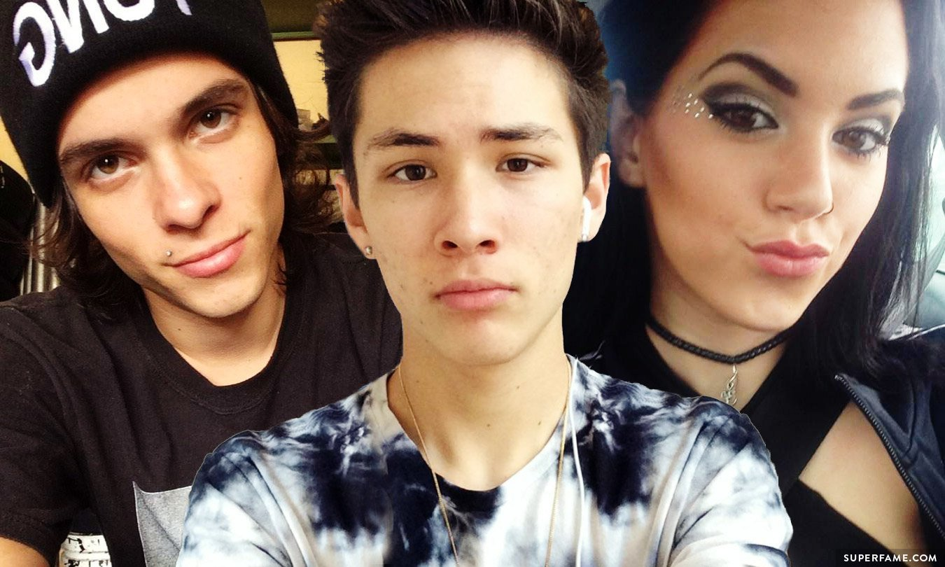 Alex Ramos, Carter Reynolds and Deborah.
