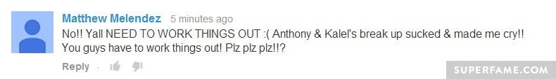Remember Anthony and Kalel?
