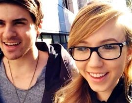 Anthony Padilla and Kalel.