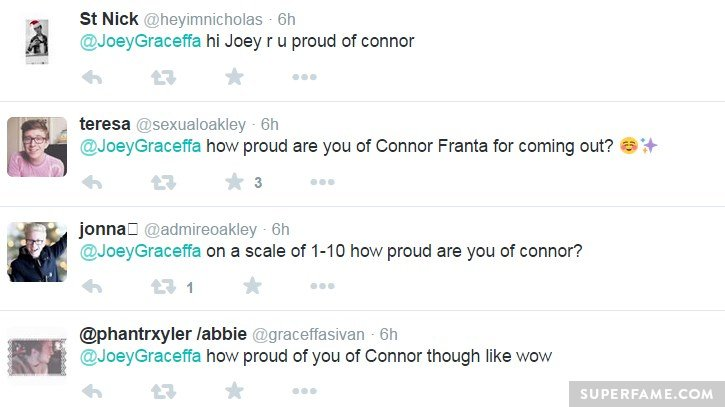 Are you proud of Connor?