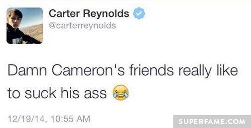 Cam's friend suck ass.
