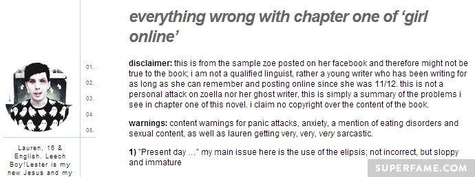 Example excerpt.