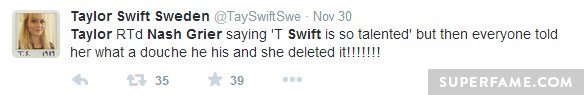 Fans explained to Swift.