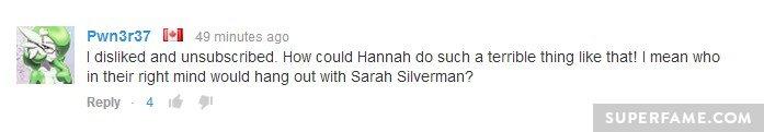 I hate Sarah Silverman.