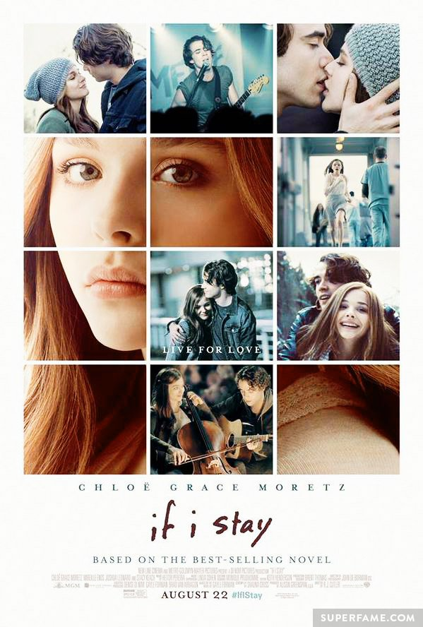 If I Stay movie poster.