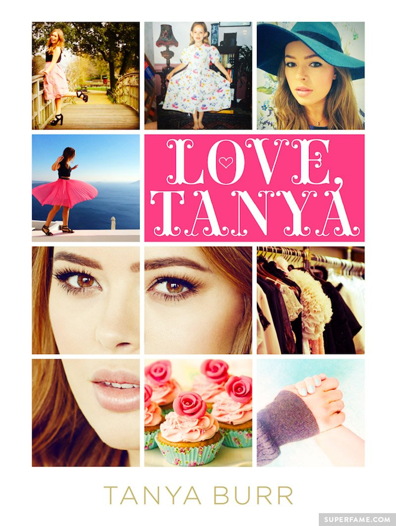 Love, Tanya book cover.