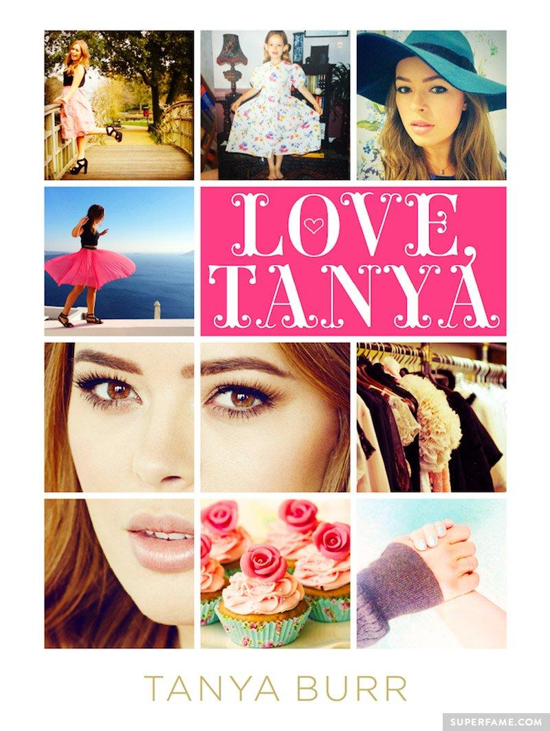 Love, Tanya book cover.