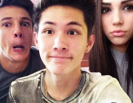 Maggie Lindemann, Carter Reynolds and Cameron Dallas.