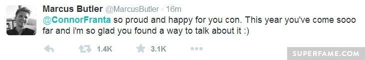 Marcus Butler tweet.
