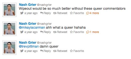 Nash hates queers.