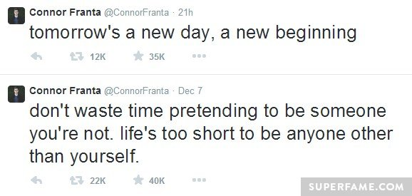 Connor's new beginning.