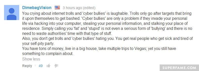 More bullying.