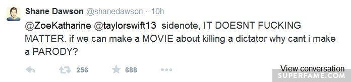 Shane's Sony hypocrisy.