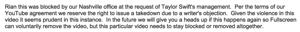 Takedown reason.