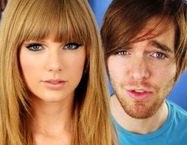 Taylor Swift with Shane Dawson.