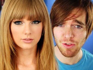 Taylor Swift with Shane Dawson.