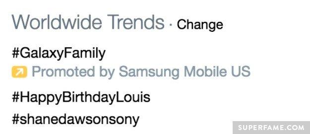 Trending worldwide.