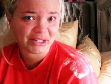 Trisha Paytas crying.