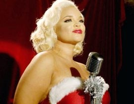 Trisha Paytas as sexy Santa.