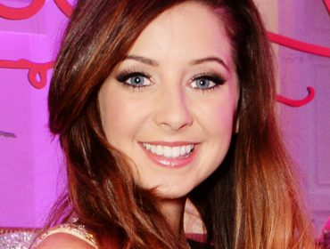Zoella at her book launch.