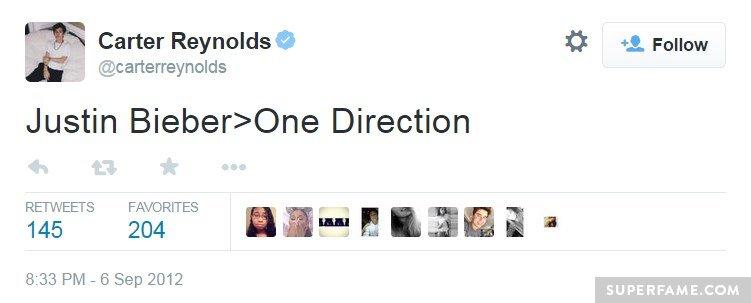 2012 Justin Tweet.