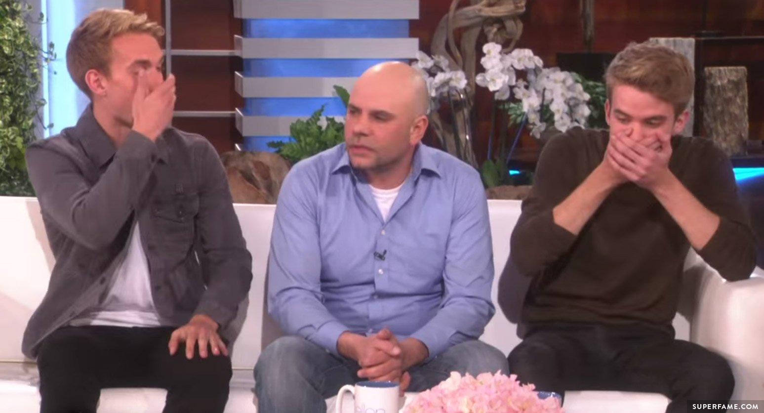 Aaron and Austin Rhodes on Ellen