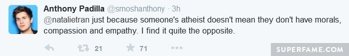 Anthony defends.