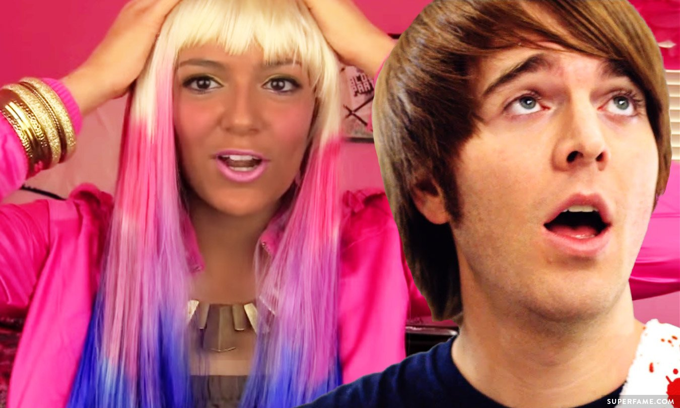 Bethany Mota and Shane Dawson's blackface.