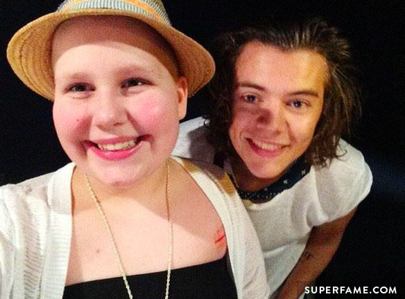 Caroline and Harry Styles