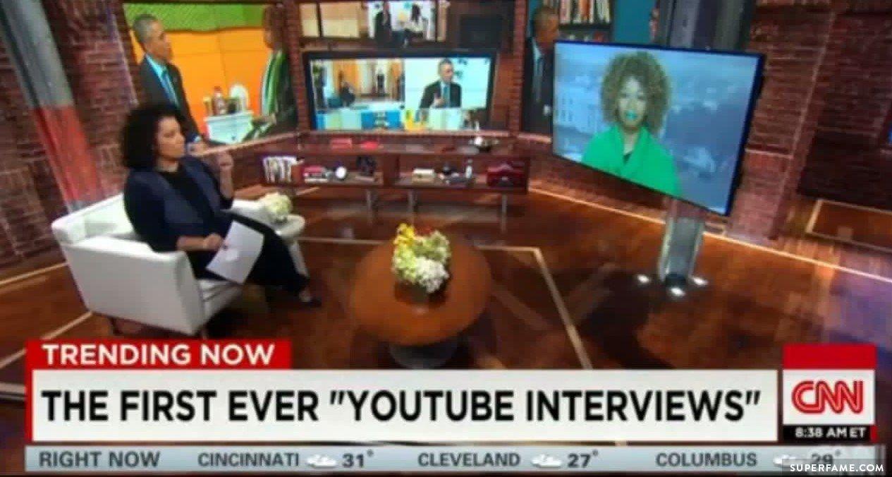 CNN interviews GloZell.