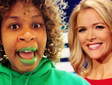 GloZell Green and Megyn Kelly