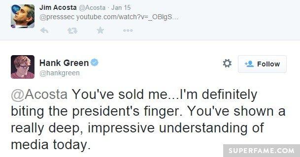 Hank Green CNN Twitter war