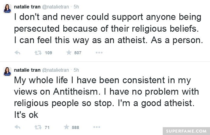I'm a good atheist.