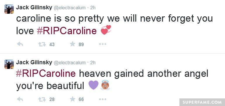 Jack and Caroline.
