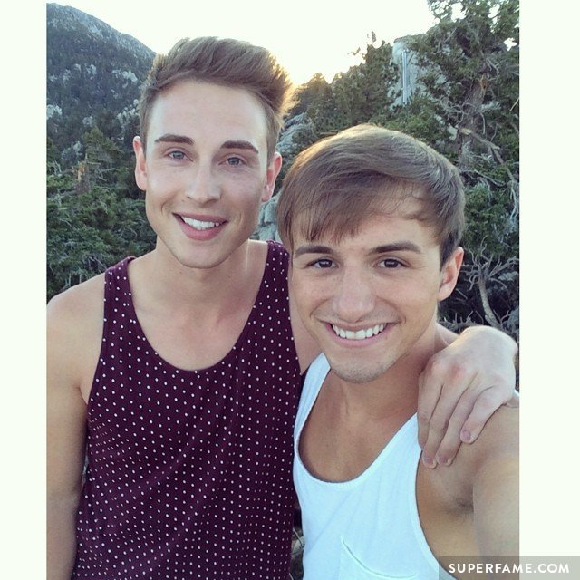Lucas Cruikshank with Boyfriend Matthew Fawcus