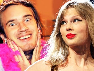 Pewdiepie and Taylor Swift.