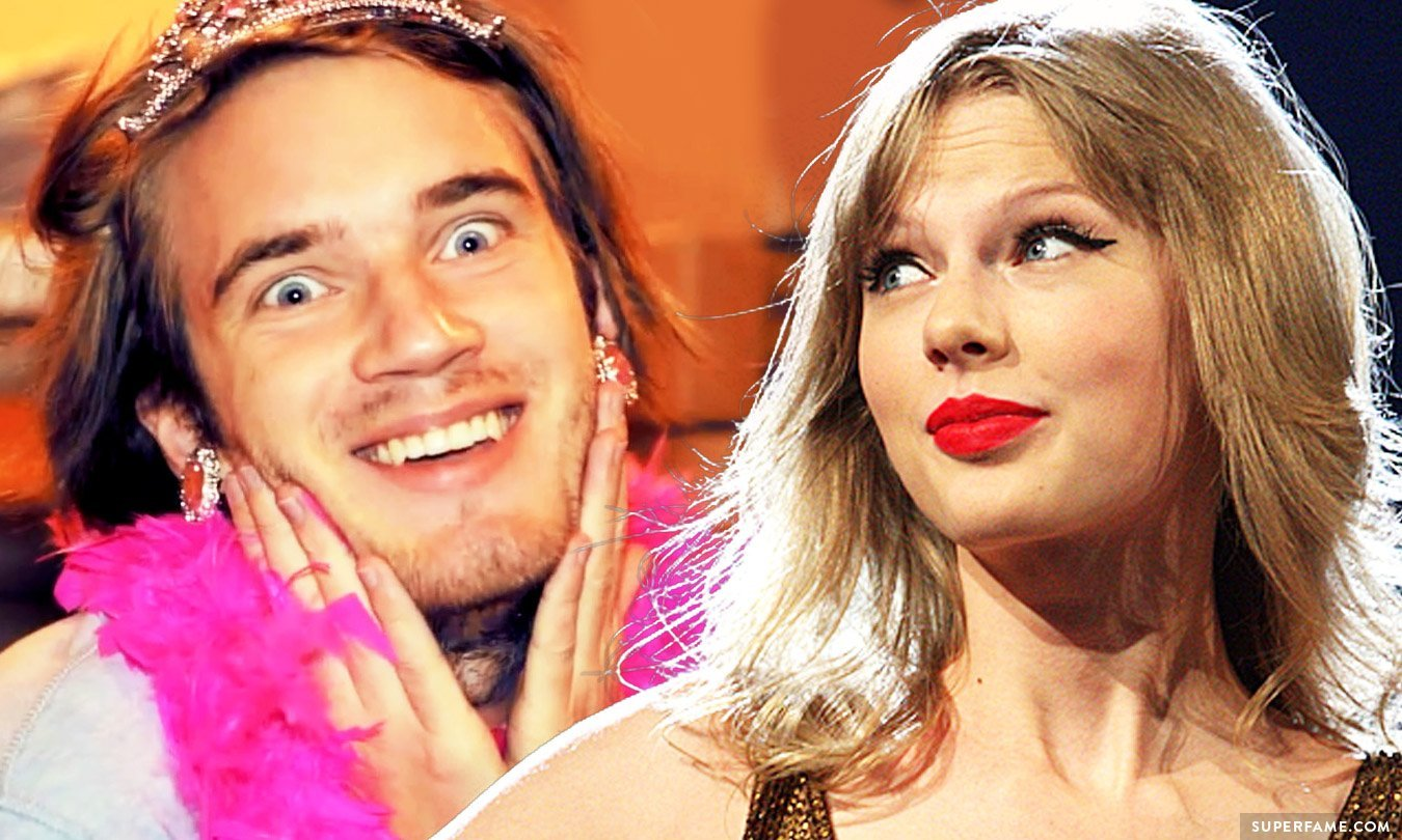 Pewdiepie And Taylor Swift