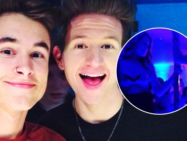 Ricky Dillon with Kian Lawley.